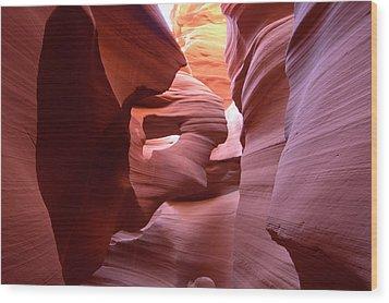 Sandstone Art Wood Print by Paul Cannon