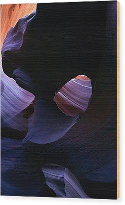 Sandstone Portal Wood Print by Mike  Dawson