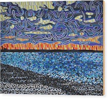 Sandy Neck Beach Wood Print by Micah Mullen