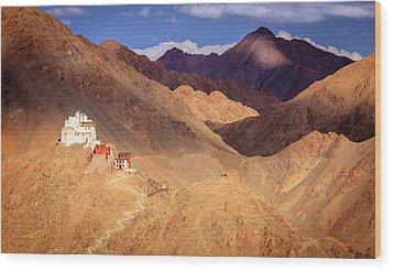 Wood Print featuring the photograph Sankar Monastery by Alexey Stiop