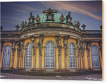 Wood Print featuring the photograph Sanssouci Palace In Potsdam Germany  by Carol Japp