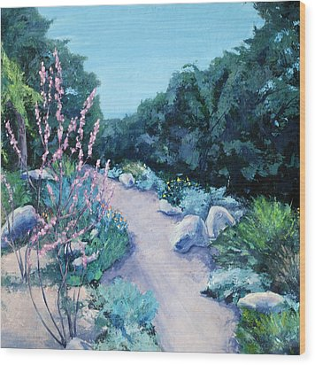 Santa Barbara Botanical Gardens Wood Print by M Schaefer