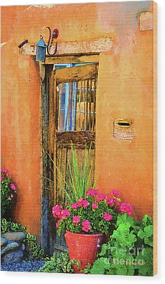 Santa Fe Wood Print by Jerry L Barrett