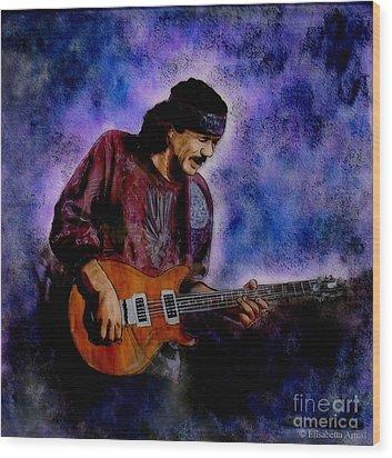 Santana Wood Print by Betta Artusi