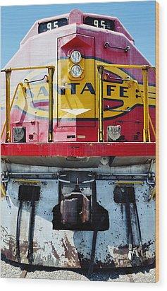 Sante Fe Railway Wood Print by Kyle Hanson