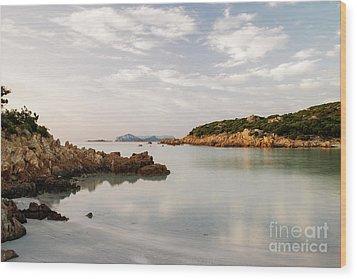 Wood Print featuring the photograph Sardinian Coast I by Yuri Santin