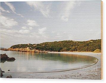 Wood Print featuring the photograph Sardinian View by Yuri Santin