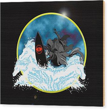 Sauron Jon Wood Print