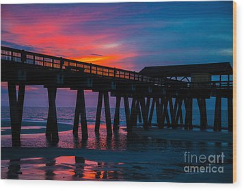 Savannah Sunrise Wood Print