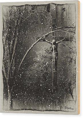 Savior Wood Print by Patricia Stalter