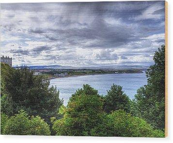 Scarborough Bay Wood Print by Svetlana Sewell