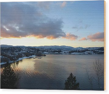 Wood Print featuring the photograph Scenic Lake Country by Will Borden