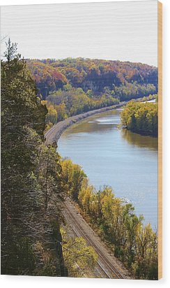 Scenic View Wood Print by Bruce Bley