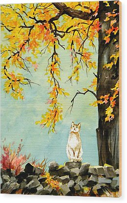 Scent Of Spring Wood Print by Art Scholz