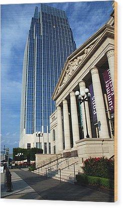 Schermerhorn Symphony Center Nashville Wood Print by Susanne Van Hulst