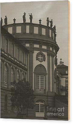 Schlosspark Biebrich Wood Print