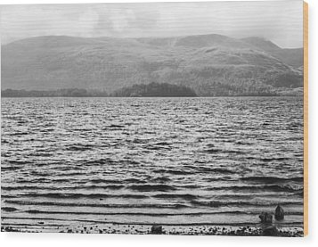 Wood Print featuring the photograph Scottish Shores by Christi Kraft