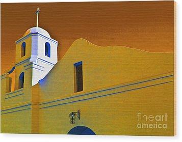 Scottsdale Mission Wood Print