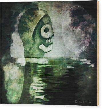 Scream Bloody Murder Wood Print
