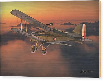 S.e. 5a On A Sunrise Morning Wood Print by David Collins