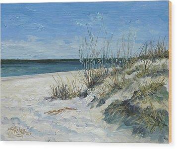 Sea Beach 1 - Baltic Wood Print