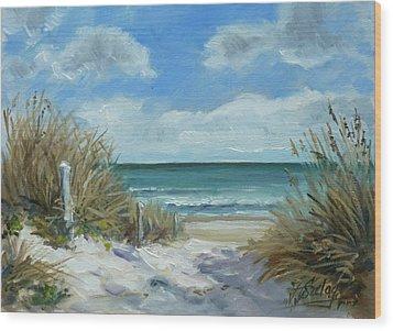 Sea Beach 11 - Baltic Wood Print