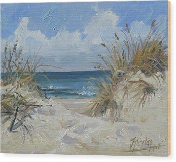 Sea Beach 7 - Baltic Wood Print