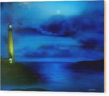 Sea Change Wood Print by Jon Paul Price