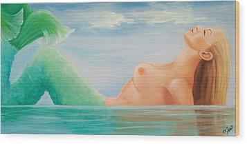 Sea Dreams Wood Print by Joni McPherson