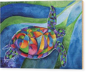 Sea Gypsy Wood Print