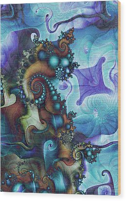 Sea Jewels Wood Print by David April