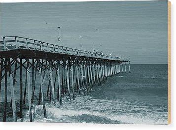 Sea Legs Wood Print