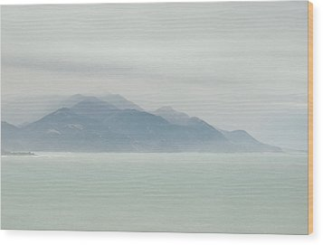 Wood Print featuring the photograph Sea Mist by Odille Esmonde-Morgan