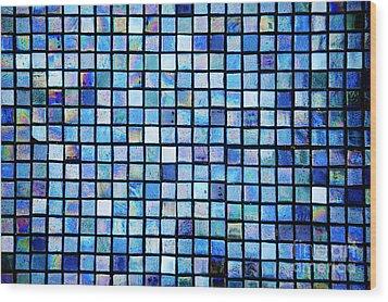 Sea Of Tiles Wood Print by Brandon Tabiolo - Printscapes