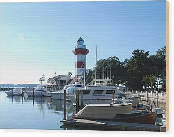 Sea Pines Hilton Head Wood Print
