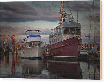 Wood Print featuring the photograph Sea Rake by Randy Hall
