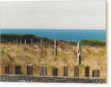 Sea Ranch Wood Print