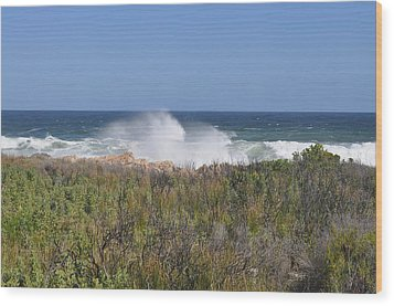 Sea Spray Wood Print