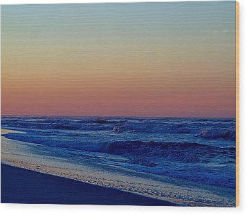 Wood Print featuring the photograph Sea View by  Newwwman