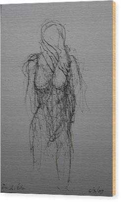 Sea Wiind Wood Print by Dean Corbin