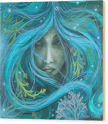 Sea Witch Wood Print by Amanda Clark