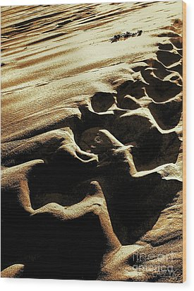 Wood Print featuring the photograph Sea3 by Cazyk Photography