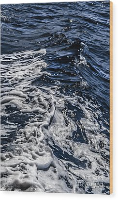Wood Print featuring the photograph Sea6 by Cazyk Photography