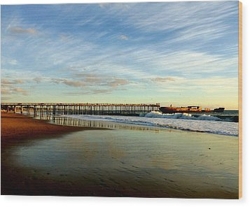 Seacliff Sky Stretch Wood Print