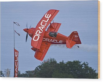 Sean Tucker - Team Oracle Wood Print