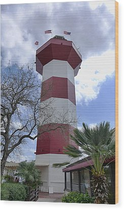 Seapines Lighthouse Wood Print