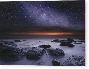 Search Of Meaning Wood Print by Jorge Maia