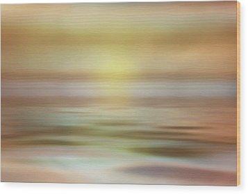 Wood Print featuring the photograph Seascape by Tom Mc Nemar