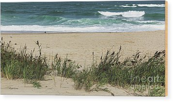 Wood Print featuring the photograph Seashore Retreat by Michelle Wiarda