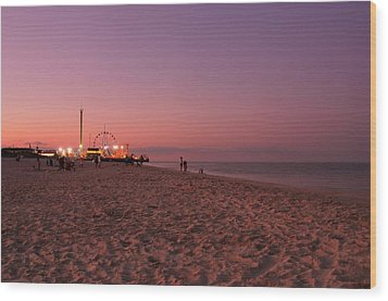 Seaside Park I - Jersey Shore Wood Print by Angie Tirado